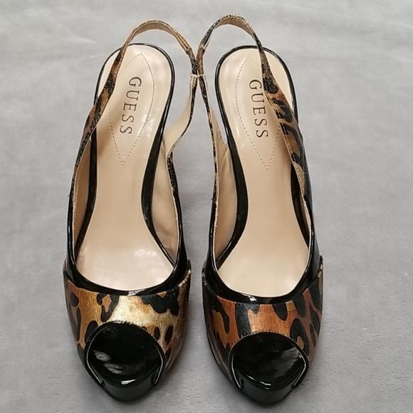 Guess Shoes | Slingback Open Toe